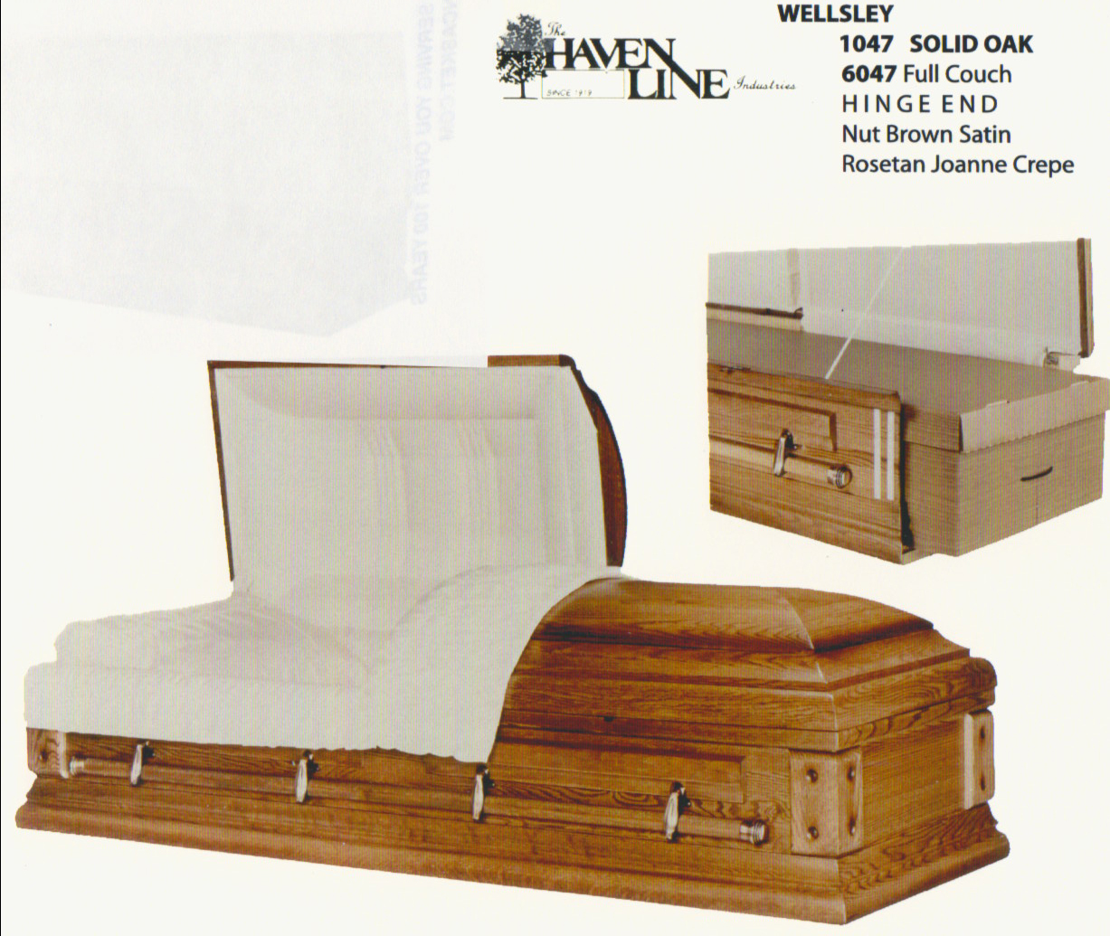 Wood Caskets – Scotchlas Funeral Home Personalized Services Director ...